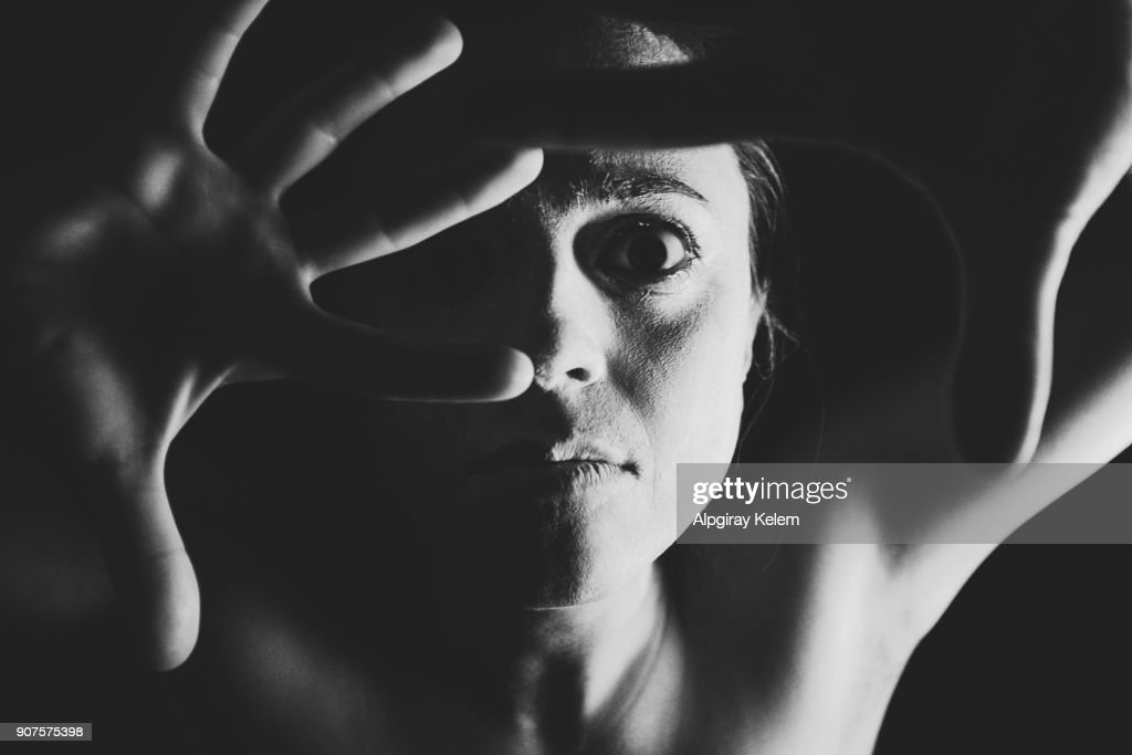 Zombie pantomime : Stock Photo
