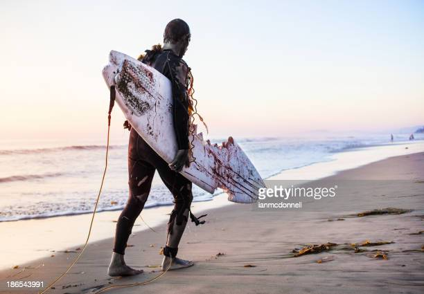 zombie surfer - shuffling stock photos and pictures