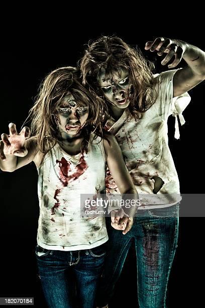 zombies andar morto - dead girl imagens e fotografias de stock