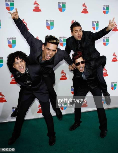 Zone D' Tambor arrives to the 10th Annual Latin Grammy Awards held at Mandalay Bay on November 5, 2009 in Las Vegas, Nevada.