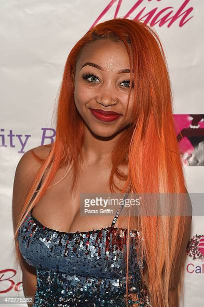 Zonnique Pullins attends 2nd Annual Mother Daughter Brunch Pageant at Klass Restaurant on May 9 2015 in Atlanta Georgia