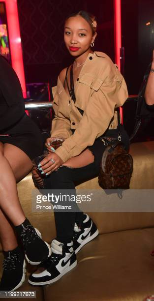 Zonnique Pullins attends No Face No Case Announcement Party at Compound on January 12, 2020 in Atlanta, Georgia.