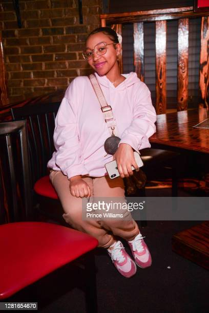Zonnique Pullins attends Trippin on Sundayz featuring Tank at Uptown Comedy Corner on October 18, 2020 in Atlanta, Georgia.