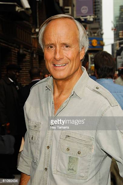 """Zoo keeper Jack Hanna attends the """"Late Show With David Letterman"""" taping at the Ed Sullivan Theater May 14, 2008 in New York City."""