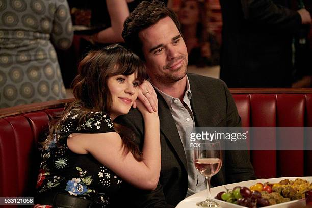 Zooey Deschanel and guest star David Walton in the 'Return To Sender' episode of NEW GIRL airing Tuesday May 3 on FOX