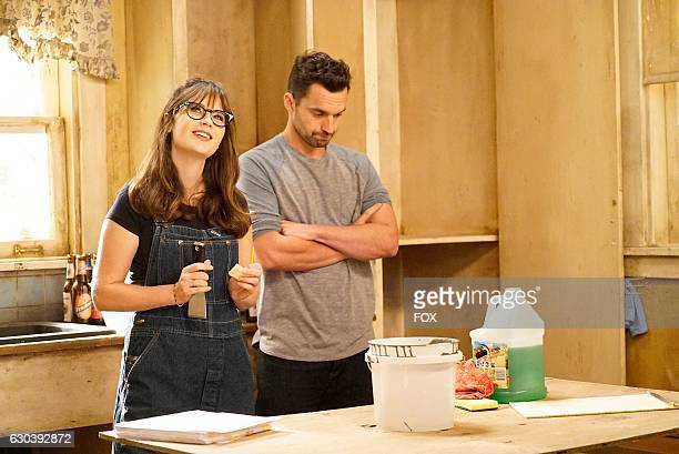 """Zooey Deschanel and Jake Johnson in the """"Jaipur Aviv"""" episode of NEW GIRL airing Tuesday, Oct. 18 on FOX."""