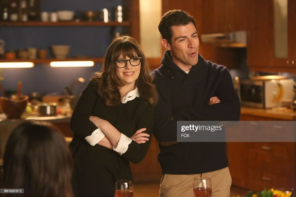 Zooey Deschanel and Max Greenfield in the 'Rumspringa' episode of NEW GIRL airing Tuesday, Feb. 21 (8:00-8:31 PM ET/PT) on FOX.
