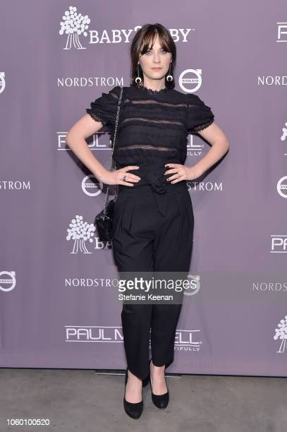 Zooey Deschanel at the 2018 Baby2Baby Gala Presented by Paul Mitchell at 3LABS on November 10 2018 in Culver City California