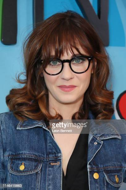 Zooey Deschanel attends For Your Consideration Screening Of Showtime's Kidding at Linwood Dunn Theater on May 01 2019 in Los Angeles California