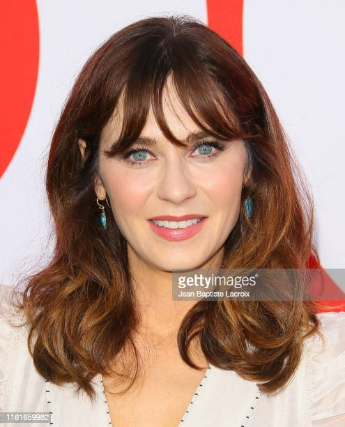 """Zooey Deschanel attends the premiere of Universal Pictures' """"Good Boys"""" at the Regency Village Theater on August 14, 2019 in Westwood, California."""