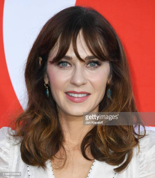 Zooey Deschanel attends the Premiere Of Universal Pictures' Good Boys at Regency Village Theatre on August 14 2019 in Westwood California