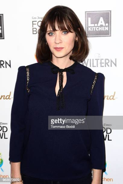 Zooey Deschanel attends the The Power Of Food An Evening With Jose Andres And Friends at The Wiltern on May 1 2018 in Los Angeles California