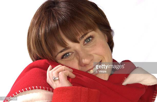 Zooey Deschanel during 2002 Sundance Film Festival The Good Girl Portraits at Harry O's in Park City Utah United States