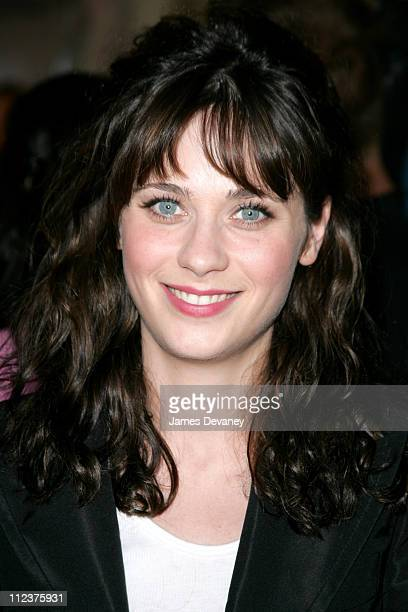 Zooey Deschanel during 2004 Toronto International Film Festival 'I Heart Huckabees' Premiere at Roy Thompson Hall in Toronto Ontario Canada