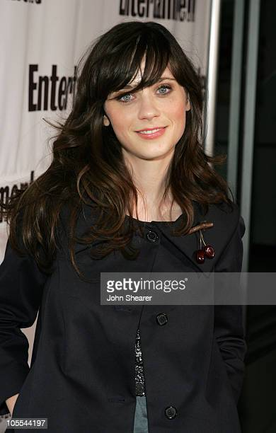 Zooey Deschanel during 2005 Toronto Film Festival Entertainment Weekly/Endeavor Party at Lobby in Toronto Canada