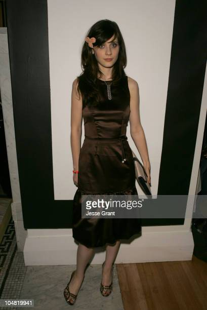 """Zooey Deschanel during 2005 Toronto Film Festival - """"Winter Passing"""" Party at Premiere Lounge at Club Monaco in Toronto, Canada."""
