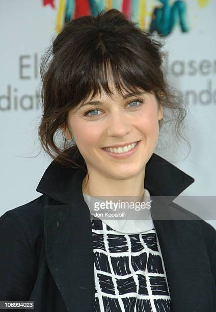 Zooey Deschanel during 'A Time for Heroes' Carnival Hosted By Disney Arrivals at Wadsworth Theater in Westwood California United States