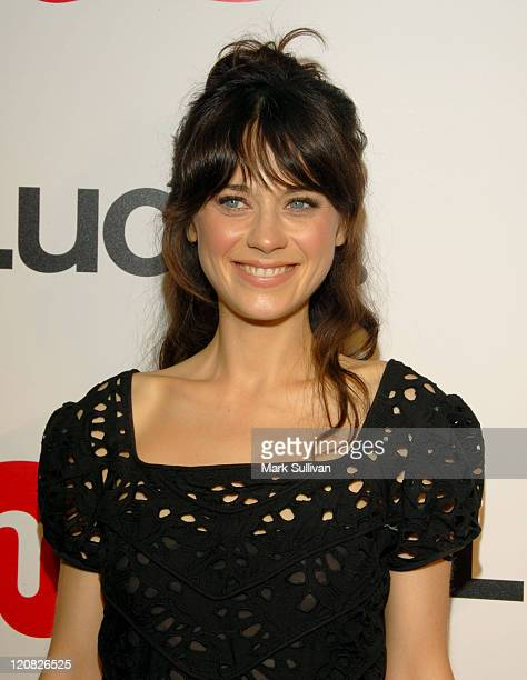 Zooey Deschanel during Lucky Magazine Hosts Party to Celebrate LA Shopping Guide at Milk Boutique Arrivals at Milk in Los Angeles California United...