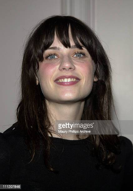 Zooey Deschanel during The Casting Society of America Presents 19th Annual Artios Awards at Beverly Hilton Hotel in Beverly Hills California United...