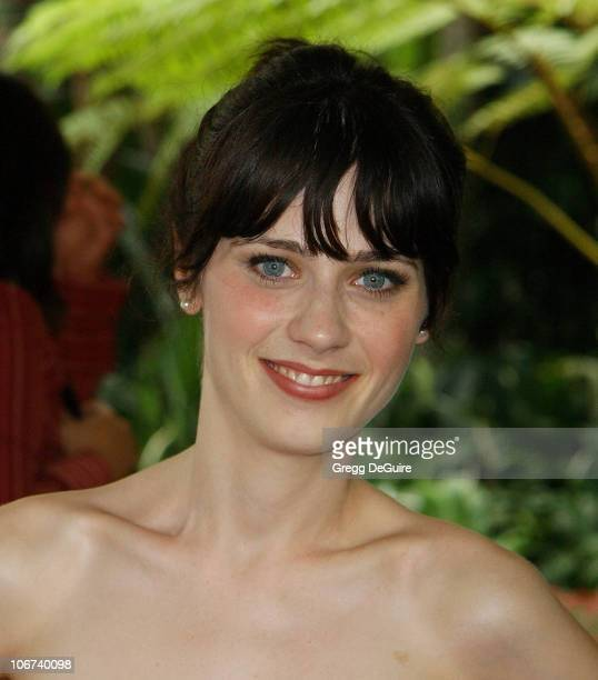 Zooey Deschanel during The Hollywood Foreign Press Association Presents $601500 In Donations During Its Annual Installation Luncheon in Beverly Hills...