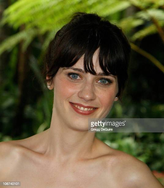 Zooey Deschanel during The Hollywood Foreign Press Association Presents $601,500 In Donations During Its Annual Installation Luncheon in Beverly...