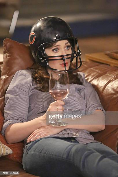 Zooey Deschanel in part two of the special one-hour Jeff Day/Helmet episode of NEW GIRL airing Tuesday, April 19 on FOX.