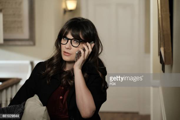 Zooey Deschanel in the Misery episode of NEW GIRL airing Tuesday March 21 on FOX