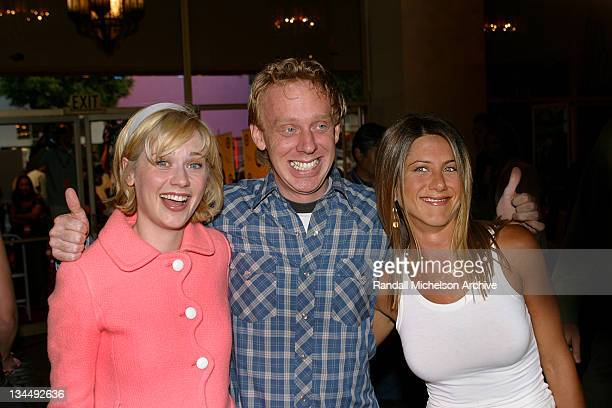 Zooey Deschanel writer/actor Mike White and Jennifer Aniston