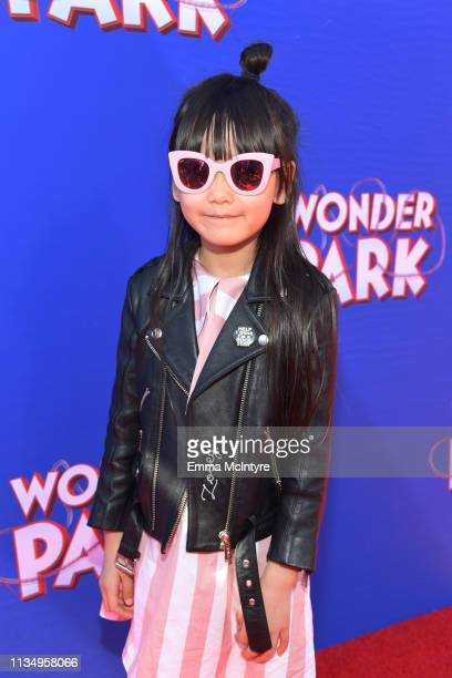 Zooey Miyoshi attends the premiere of Paramount Pictures' Wonder Park at Regency Bruin Theatre on March 10 2019 in Los Angeles California