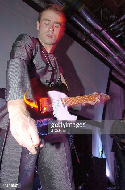 Zoot Woman during Diesel U Music Awards 2004 at Fabric Nightclub in London Great Britain