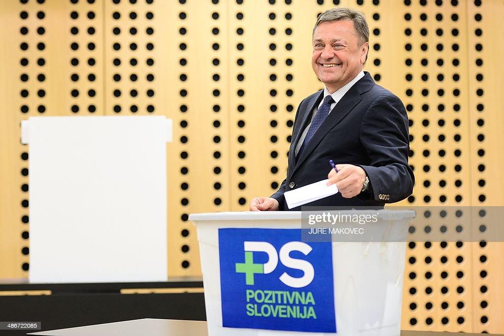 SLOVENIA-POLITICS : News Photo