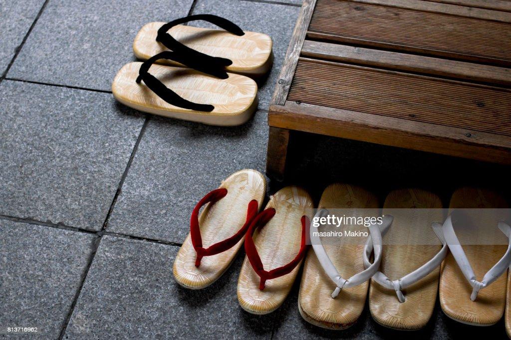 Zori, Traditional Sandals : Stock Photo
