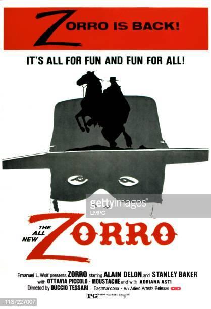 Zorro poster US poster art 1974