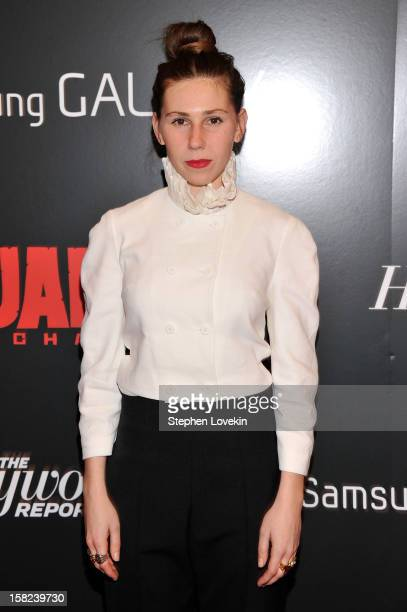 Zosia Mamet attends a screening of 'Django Unchained' hosted by The Weinstein Company with The Hollywood Reporter Samsung Galaxy and The Cinema...