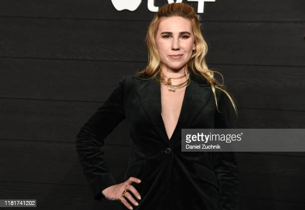 "Zosia Mamet attends Apple's Global Premiere of ""Dickinson"" at ST. Ann's Warehouse on October 17, 2019 in Brooklyn, New York."