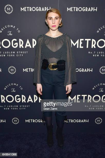 Zosia Mamet attends Metrograph 1st Anniversary party at Metrograph on March 8 2017 in New York City