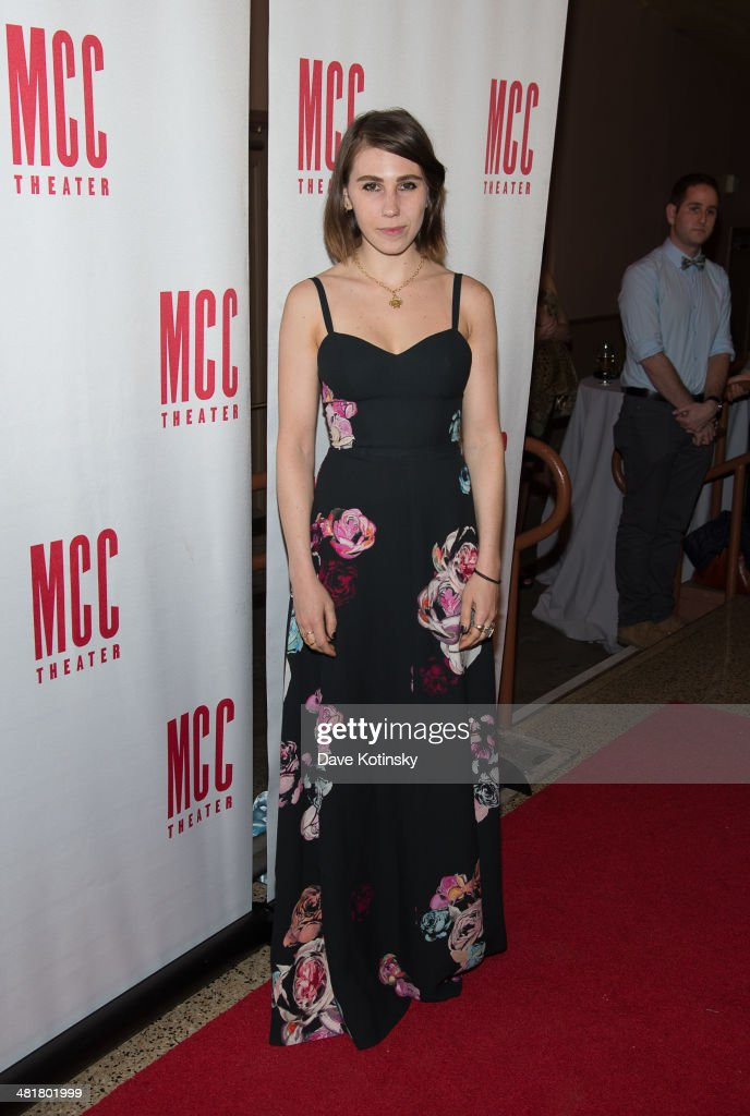 Zosia Mamet attends Miscast 2014 at Hammerstein Ballroom on March 31, 2014 in New York City.