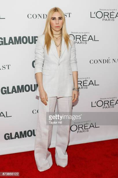Zosia Mamet attends the 2017 Glamour Women Of The Year Awards at Kings Theatre on November 13 2017 in New York City