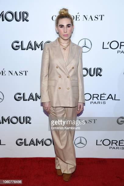 Zosia Mamet attends the 2018 Glamour Women Of The Year Awards Women Rise on November 12 2018 in New York City
