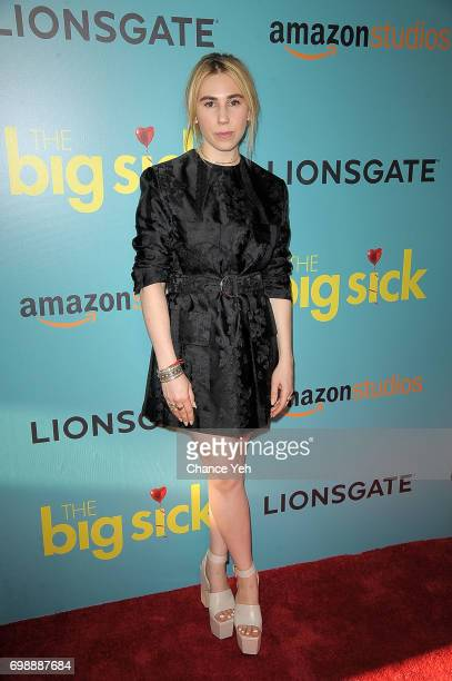 Zosia Mamet attends 'The Big Sick' New York premiere at The Landmark Sunshine Theater on June 20 2017 in New York City
