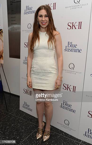 Zosia Mamet attends the 'Blue Jasmine' New York Premiere at MOMA on July 22 2013 in New York City