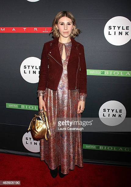 Zosia Mamet attends the Matrix Biolage Cleansing Conditioner Launch Event at Crosby Street Hotel on February 19 2015 in New York City