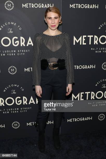 Zosia Mamet attends the Metrograph 1st Year Anniversary Party at Metrograph on March 8 2017 in New York City