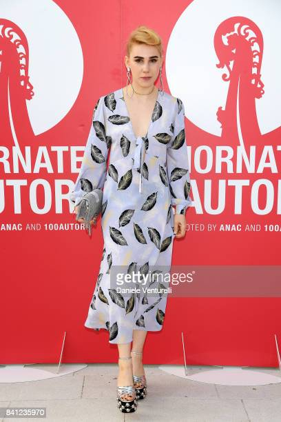 Zosia Mamet attends the 'Miu Miu Women's Tales' photocall during the 74th Venice Film Festival at on August 31 2017 in Venice Italy