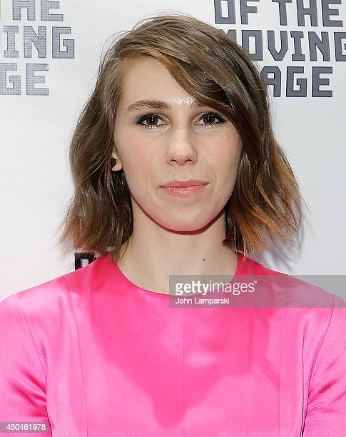e089f1d5aa9d Zosia Mamet attends the Museum Of The Moving Image Honors Richard Plepler Charlie  Rose at Saint
