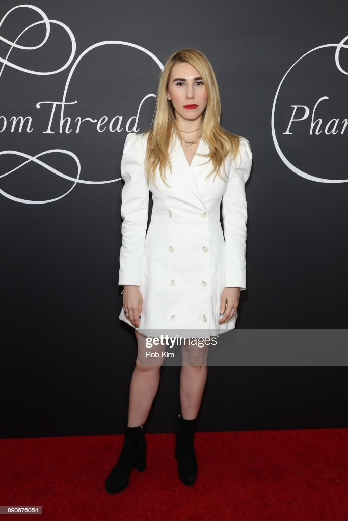 Zosia Mamet attends the New York Premiere of 'Phantom Thread' at Harold Pratt House on December 11, 2017 in New York City.