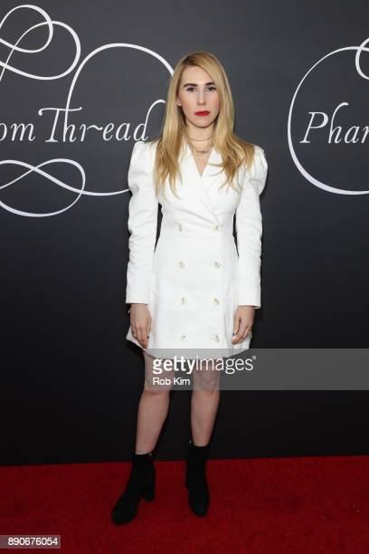 Zosia Mamet attends the New York Premiere of 'Phantom Thread' at Harold Pratt House on December 11 2017 in New York City