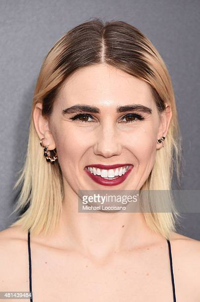 "Zosia Mamet attends the New York premiere of ""Southpaw"" for THE WRAP at AMC Loews Lincoln Square on July 20, 2015 in New York City."
