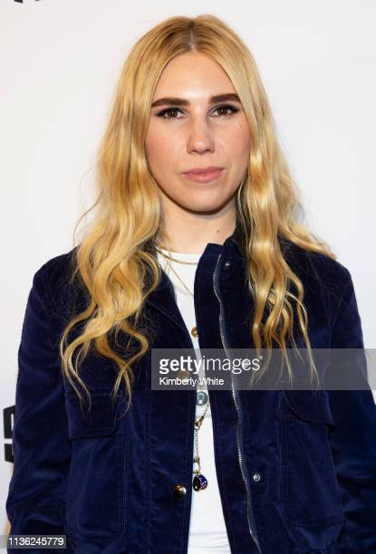 "Zosia Mamet attends the premiere of ""Armistead Maupin's Tales Of The City"" at the Castro Theatre on April 10, 2019 in San Francisco, California."
