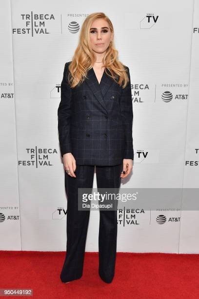 Zosia Mamet attends the screening of 'Fabled' at Tribeca TV Indie Pilots during the 2018 Tribeca Film Festival at Cinepolis Chelsea on April 23 2018...
